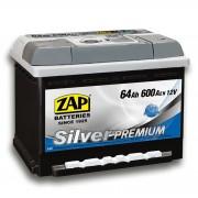 ZAP Silver Premium 64Ah 600A