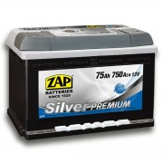 ZAP Silver Premium 75Ah 750A