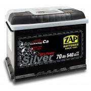 ZAP Silver 70Ah 540A P+/L+