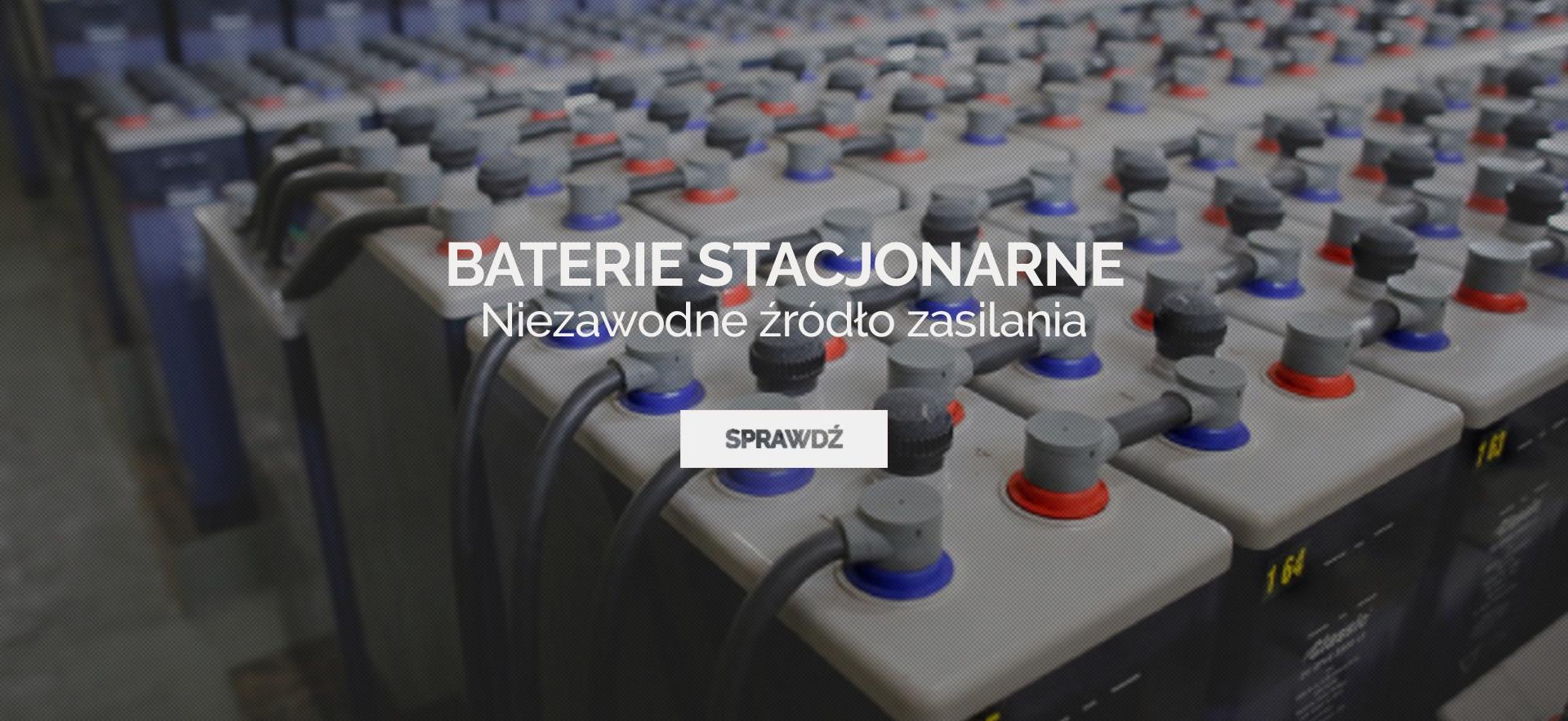 Baterie stacjonarne